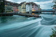 Lucerne Swiss City On One Hundred Swiss Lakes