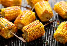 Grilled Corn On The Cob With B...