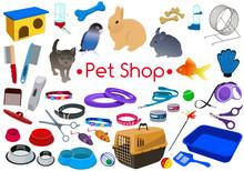 Beautiful Pet Shop Set