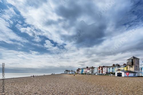 Canvas-taulu Aldeburgh pebble beach in Suffok England