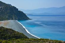 Spiaggia Di Nonza, Cap Corse, ...