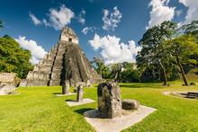 TIKAL, GUATEMALA AUGUST Located In El Peten Department, Tikal National Park.