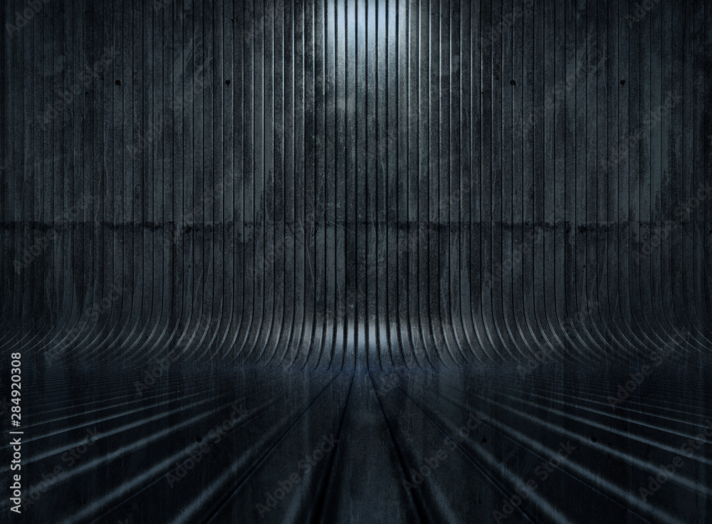Fototapety, obrazy: Beautiful studio background. 3d illustration, 3d rendering.