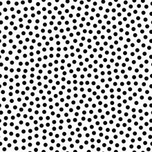 Seamless Polka Dot Pattern. Fashion 80-90s. Hipster Memphis Style.