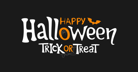 Happy Halloween and Trick o...