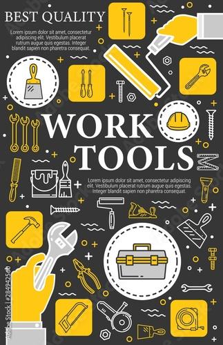 Construction, repair and renovation hand tools