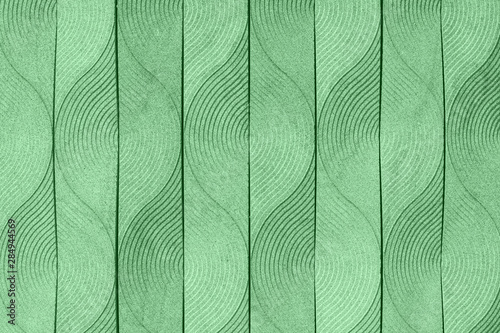 Photo  Trendy mint colored abstract elegant art deco geometric ornament textured background