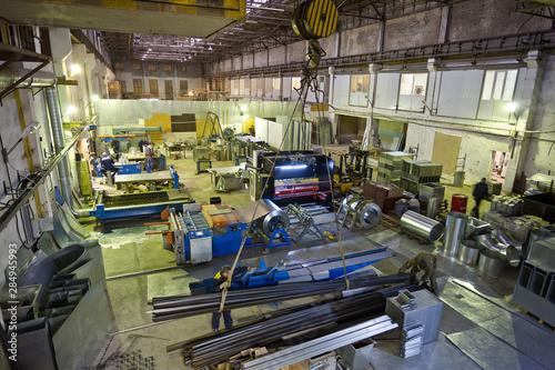 Fotografía  Metalworking factory