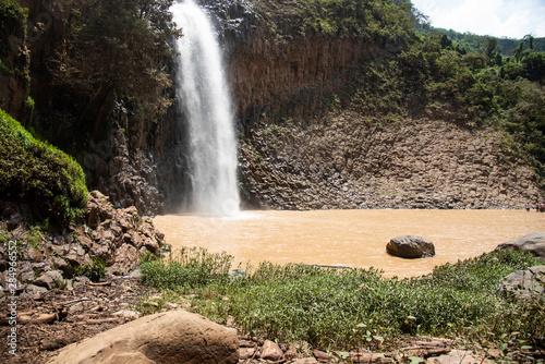 Photo  Cascada del Nogal Tapalpa Mexico Jalisco - Sierra Tapalpa - Salto del Nogal Wate
