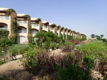 Green Hotel Garden In Egypt