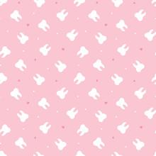 Cute Pink Seamless Pattern Bac...