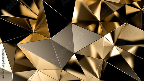 abstract-triangle-crystal-background-3d-illustration-3d-rendering