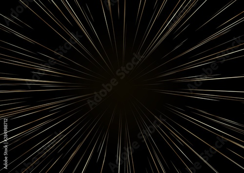 Fotografia Background with stars or Hyperspace