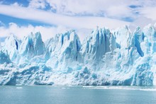 Beautiful Shot Of Icebergs In ...