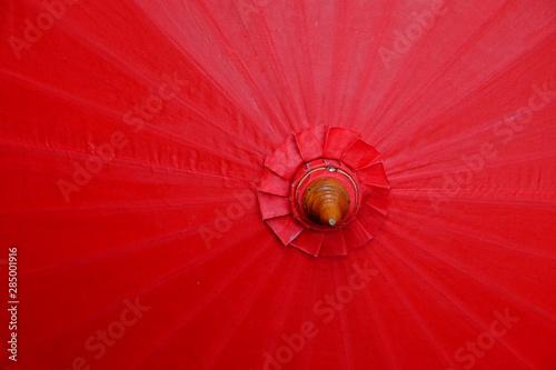 Obraz na plátně  Ombrelle rouge