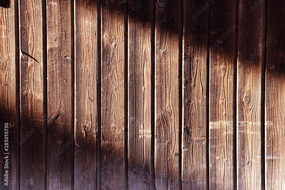 Fototapeta old brown used wood panels - obraz na płótnie