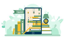 Electronic Library, Screen Of ...