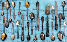 Vintage Cutlery - Spoons, Fork...