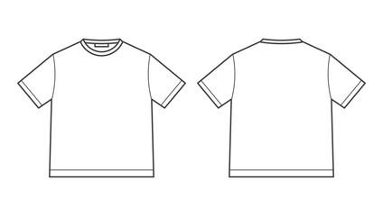 blank tshirt design template