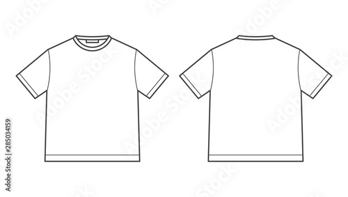 Photo blank tshirt design template