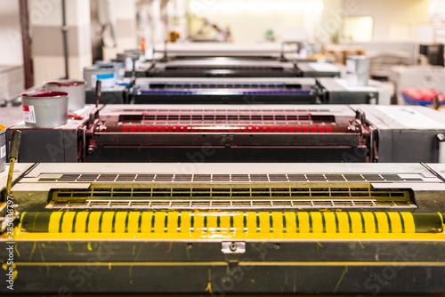 Fotomural Sheetfed printing maschine