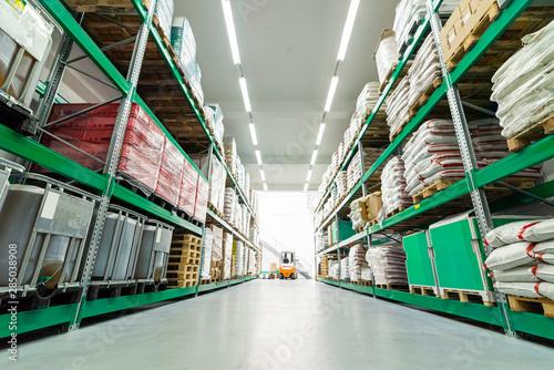 warehouse with different goods Tapéta, Fotótapéta