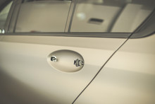 Close Up Of Car Door With Remo...