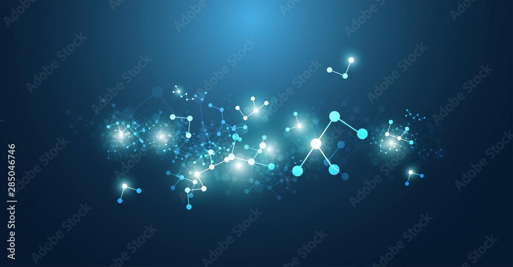 Fototapeta sfondo, texture, molecole, elementi, chimica, biologia,