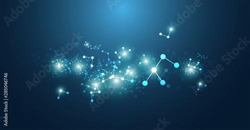 sfondo, texture, molecole, elementi, chimica, biologia,