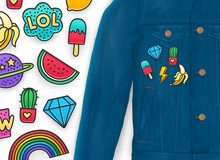 Fashion Enamel Pins, Patch Badges, Clothing Patch On Jacket Jeans