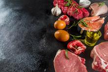 Carnivore Diet Background. Non...