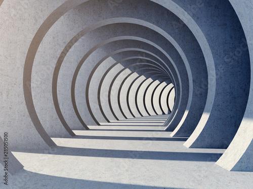 Fototapeta tunel  nowoczesny-tunel-betonowy