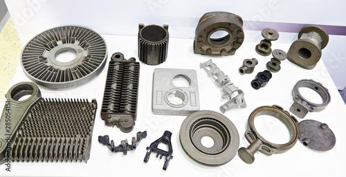 Fototapeta  Cast iron parts for industrial