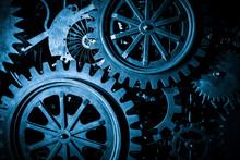 Large Cog Wheels In The Motor