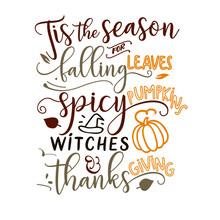 Tis The Season For Falling Lea...