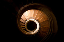 Spiraled Staircase In Catherda...