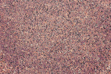 The Background Of Polished Granite In Brown Black Shades. A Background For Design And Creative Work. Decoration And Exterior Decoration Of The Building. Construction Works