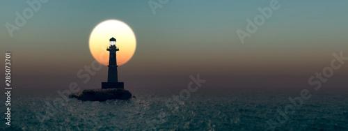 Obraz formentor lighthouse in majorca - fototapety do salonu