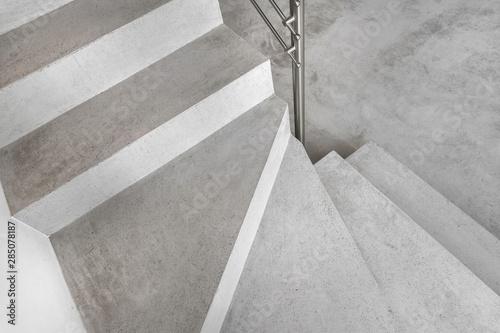 Fotografija Grey microcement stairs