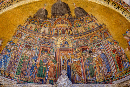 Photo Mosaic from Saint Mark's Basilica in Venice, Italy