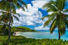 Sandy Tropical Beach,  Virgin ...