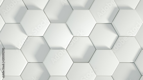Fototapety, obrazy: Volumetric texture abstract background. 3d illustration, 3d rendering.