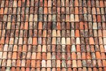 Tiled Roof Background