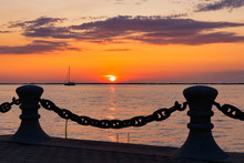 Sunset On Lake Erie In The Gre...