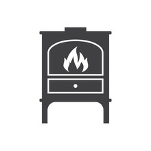 Iron Wood Stove Furnace Heater...