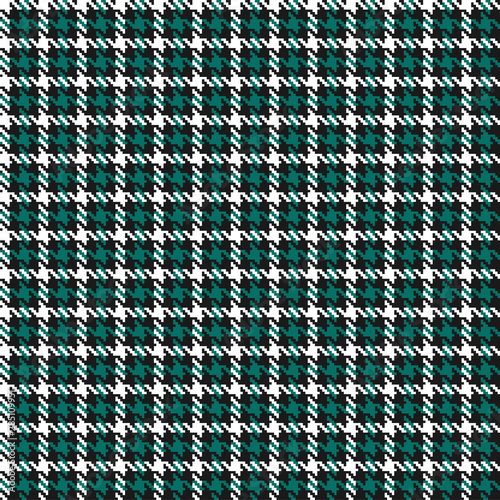 Photographie Christmas houndstooth seamless pattern