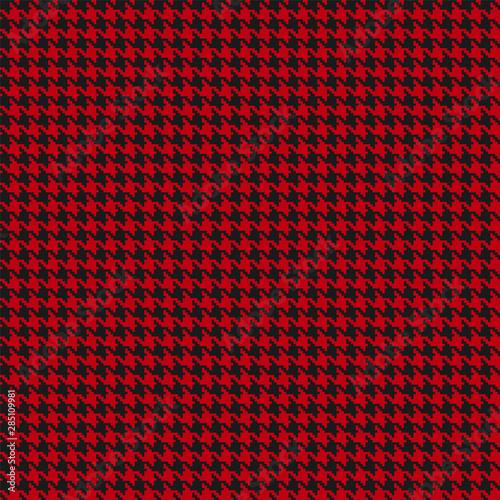 Christmas houndstooth seamless pattern Wallpaper Mural