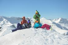 Group Photo Of Friends Stnadin...