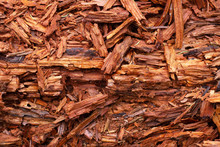 The Texture Of Wood Chips, Bro...