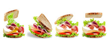 Sandwich With Whole Grain Brea...
